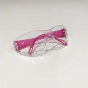 Sikkerhedsbrille til børn - Pink